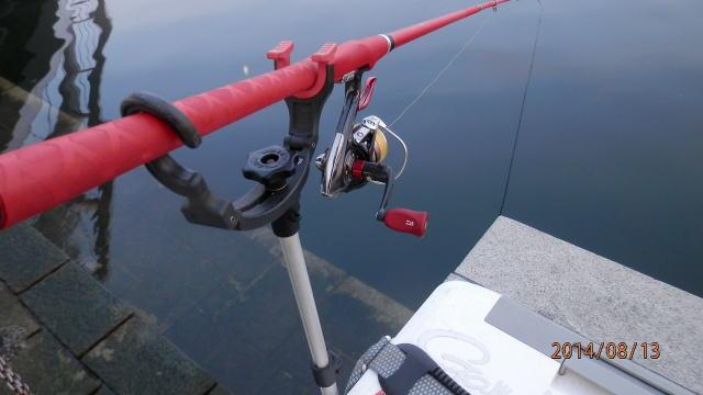 5:26 釣り開始 ♪