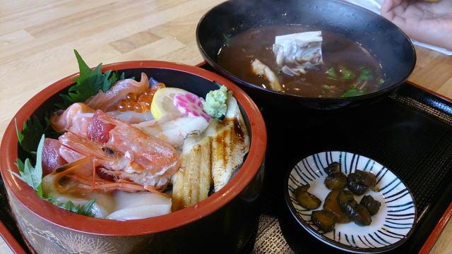 海鮮丼定食 ¥750也