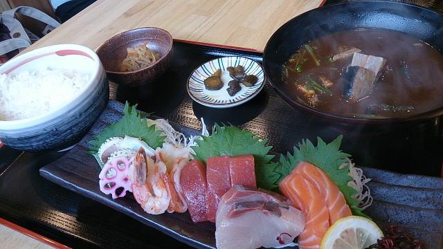 旬のお造り定食 ¥950也