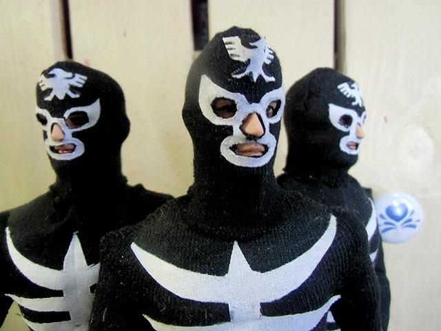 三人のマスクマン