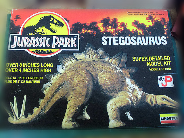 ステゴサウルスの箱