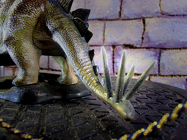 ステゴサウルスの尾