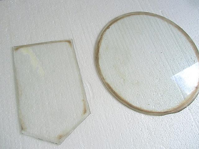 汚れたガラス