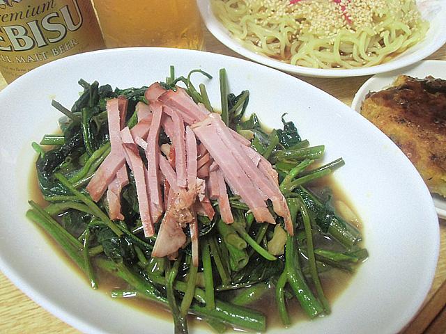 空芯菜醤油味