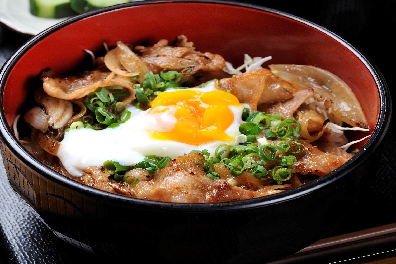 かわきた味噌豚丼