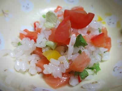 超手抜きなサラダちらし寿司