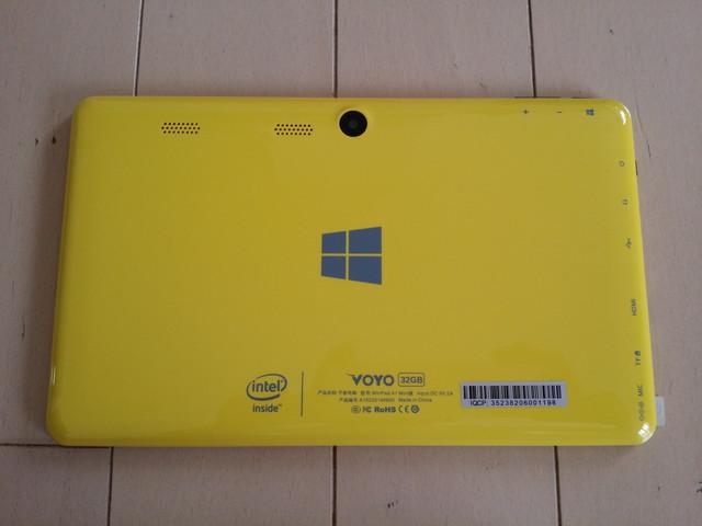 WinPad A1 mini 背面