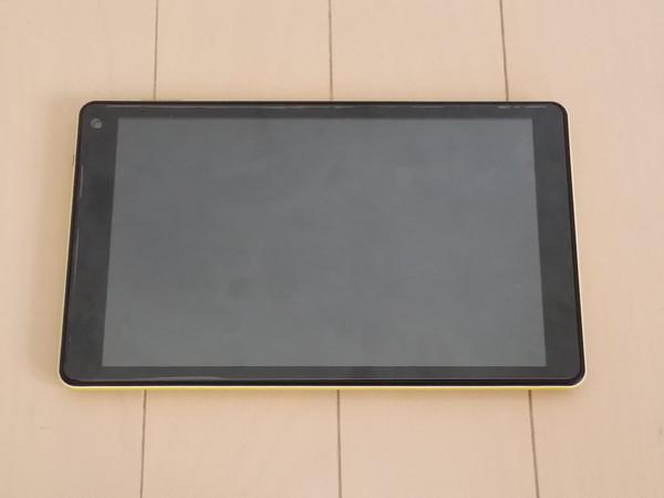WinPad A1 mini ダイソー製液晶保護シート貼り付け