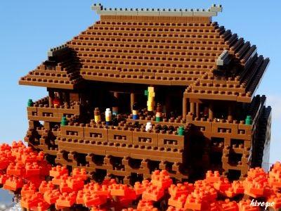 秋の清水寺400