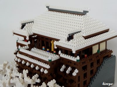 雪の清水寺400