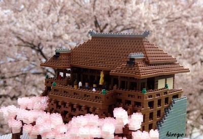 清水寺の桜in桜B400