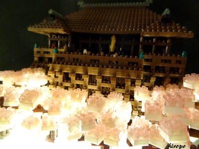 清水寺の夜桜400