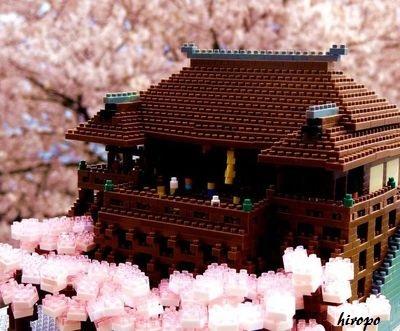 清水寺の桜in桜フォトコン応募400