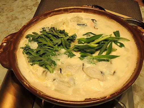 2月17日 豆乳鍋