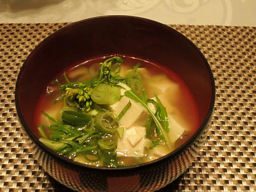3月23日 お味噌汁