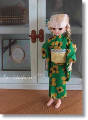 マリちゃん 浴衣