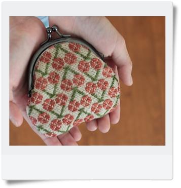 さくらんぼのがま口1