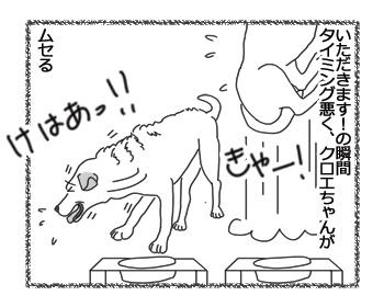 羊の国のラブラドール絵日記シニア!!「まずは食べてから」2