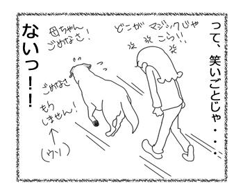 羊の国のラブラドール絵日記シニア!!「マジック・ショ―!?」4