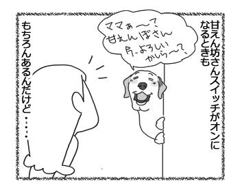 羊の国のラブラドール絵日記シニア!!「タ、タイミングが・・・!」3