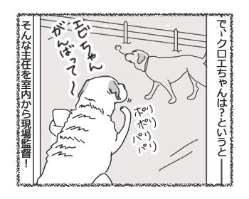 羊の国のラブラドール絵日記シニア!!「主任と現場監督」4B