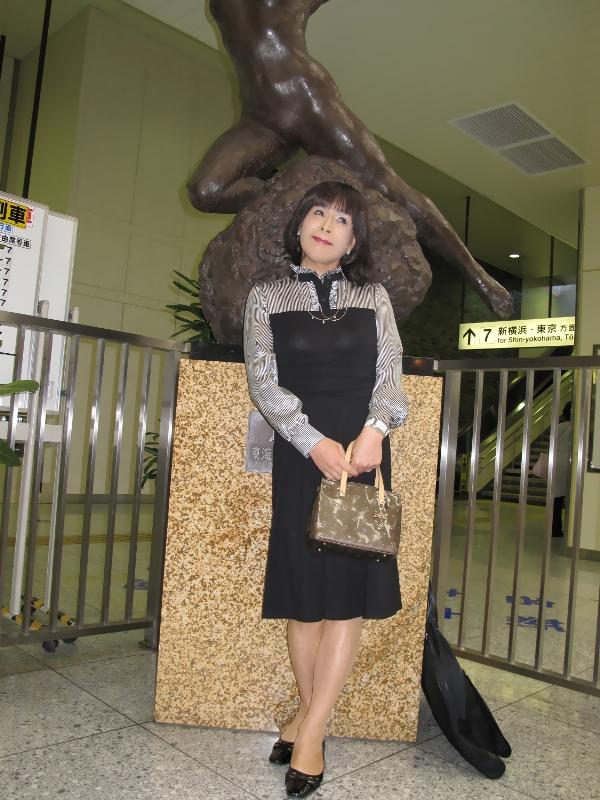 090426熱海駅にて(2)