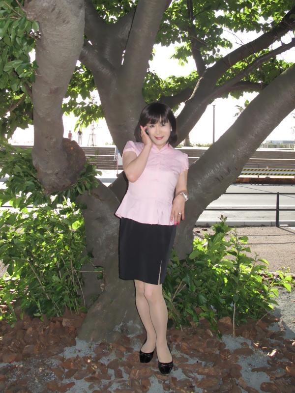 090427熱海ピンク半袖(1)