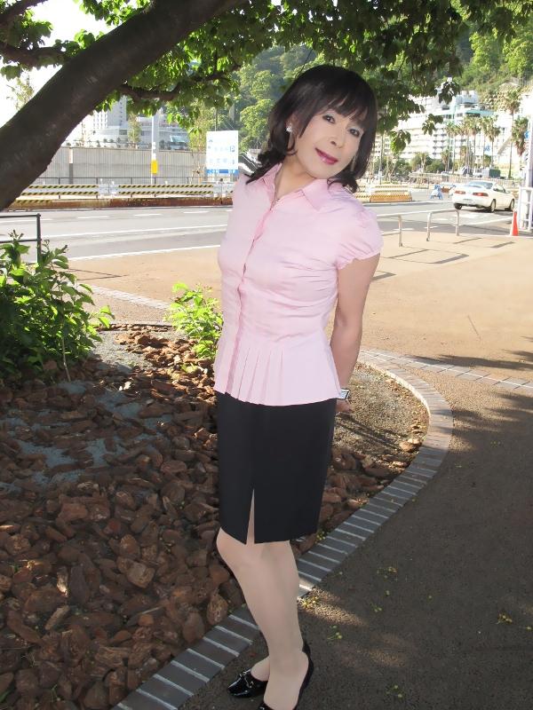 090427熱海ピンク半袖(4)