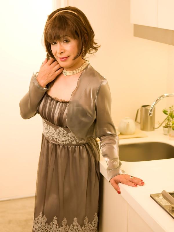 銀ドレス(3)