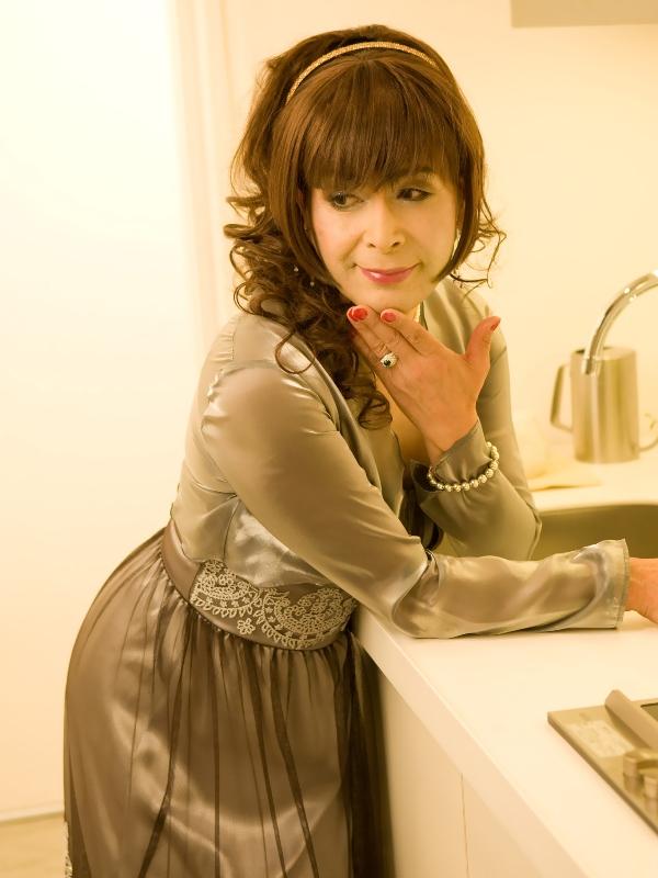 銀ドレス(4)