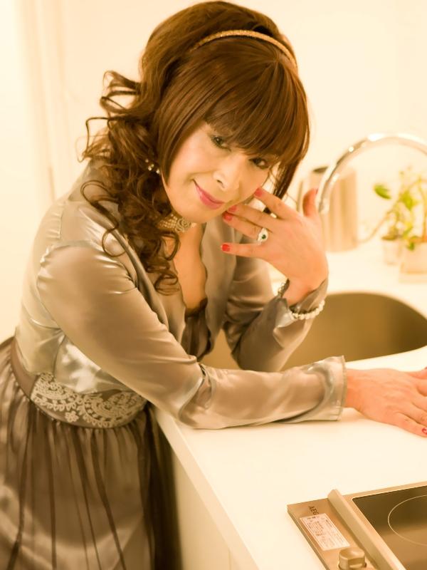 銀ドレス(5)