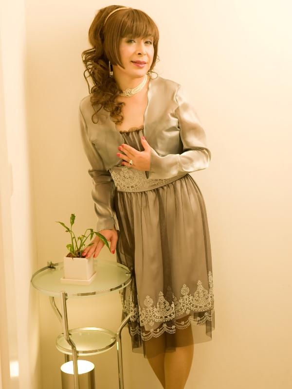 銀ドレス(7)