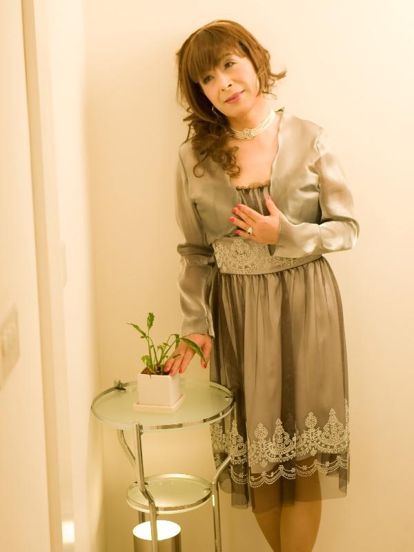 銀ドレス(8)