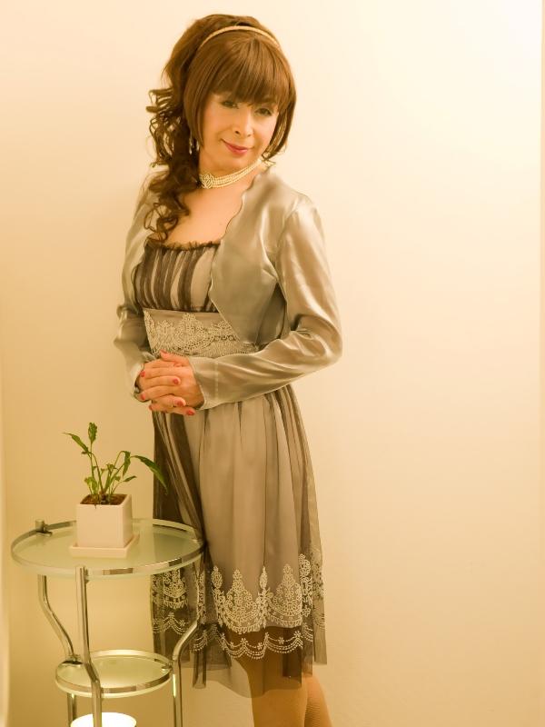銀ドレス(9)