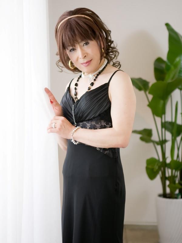 黒ドレスC(13)