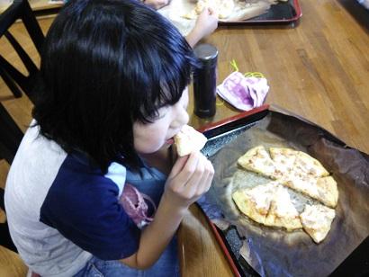 ピザ作り2