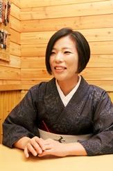 寿司屋のおかみさん