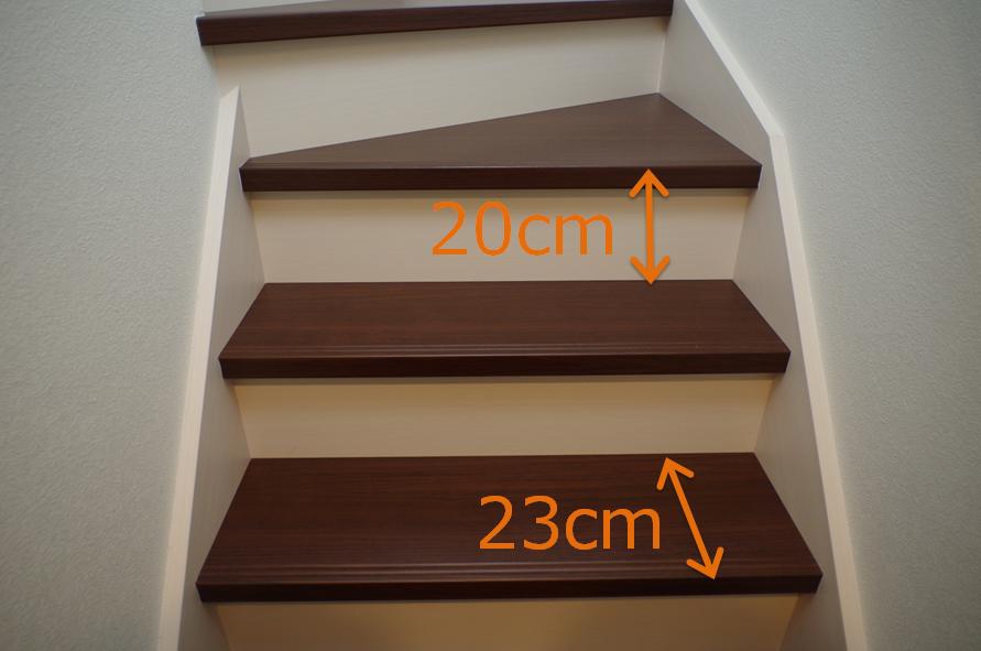 内覧会*階段サイズ2