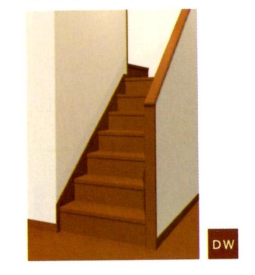 階段色パターン