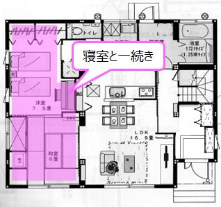 1階和室間取り4
