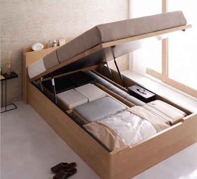 収納たっぷりベッド
