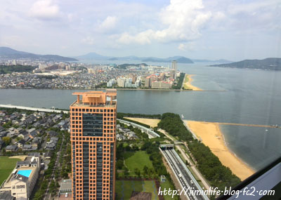 福岡タワーからマリナシティ