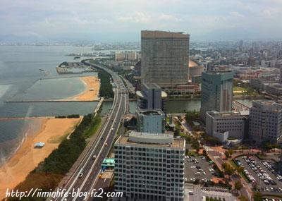 福岡タワーからヤフードーム
