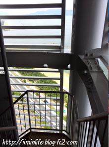 福岡タワー非常階段1