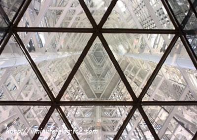 福岡タワー天井