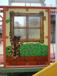 巨大遊具の窓2