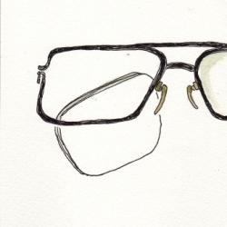 ちぃ~ちぃ~のメガネ