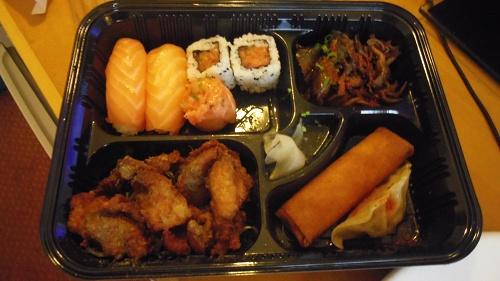 お寿司弁当0738