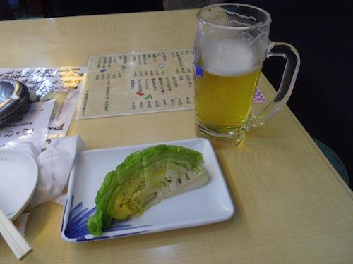 31098キャベツとビール
