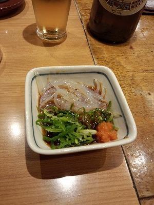 白魚ポン酢